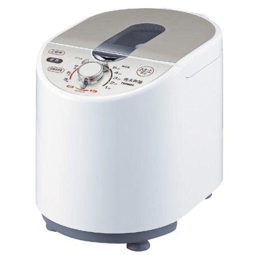 TWINBIRD コンパクト精米器 精米御膳 ホワイト MR-E700W