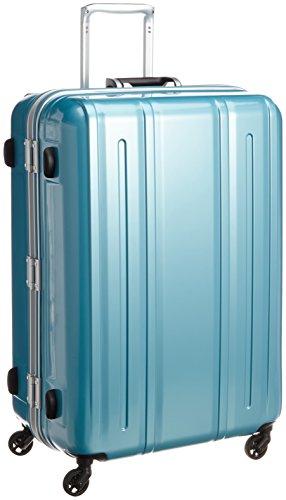 [エバウィン] 軽量スーツケース Be Light 静音キャスター 容量94L 縦サイズ74cm 重量4.5kg 31227 BL クリアブルー クリアブルー