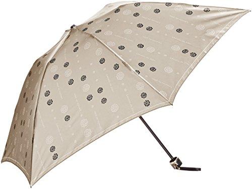 (ムーンバット)MOONBAT(ムーンバット) ランバン オン ブルー 婦人おりたたみミニ傘 花柄 サテン生地 21-084-08140-02 21-55 ベージュ 55cm