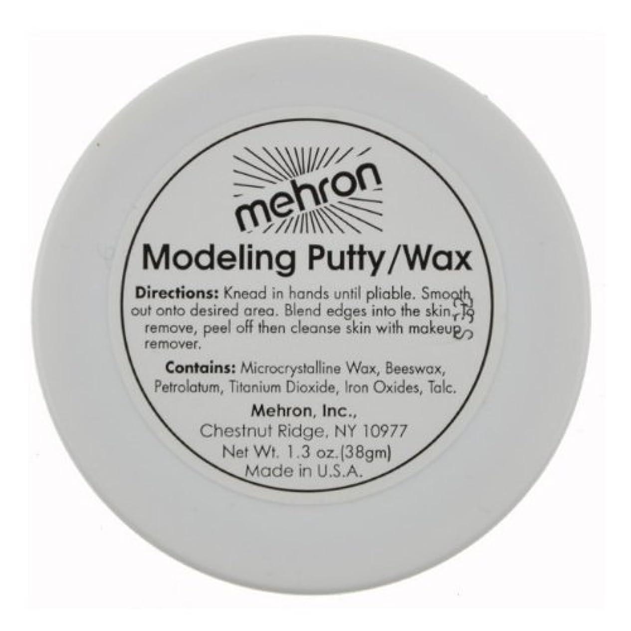 抑圧するクランプ明確な(3 Pack) mehron Modeling Putty/Wax (並行輸入品)