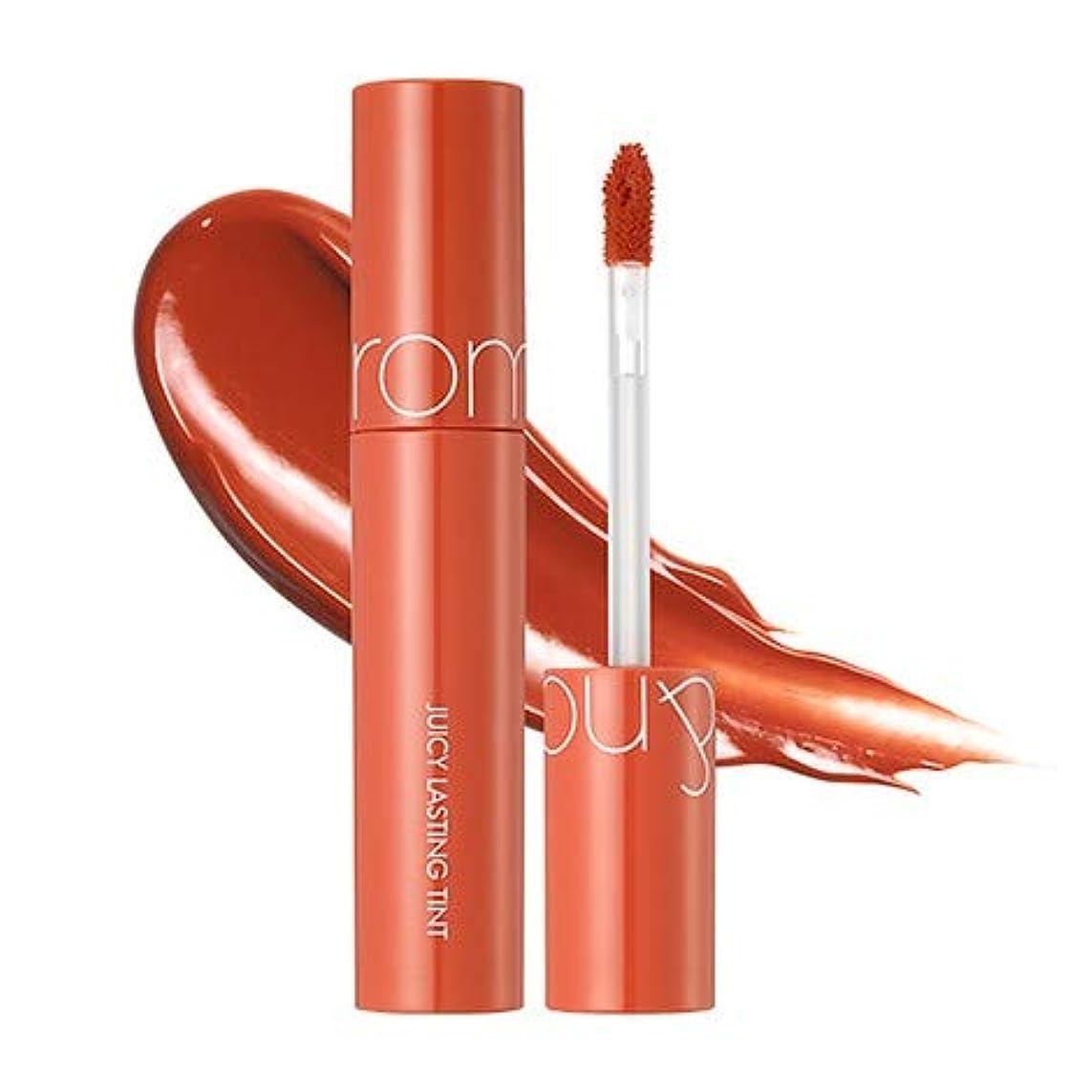にぎやかアテンダント手術ローム?アンド?ジューシーラスティングティントリップティント韓国コスメ、Rom&nd Juicy Lasting Tint Lip Tint Korean Cosmetics [並行輸入品] (No.8 apple brown)