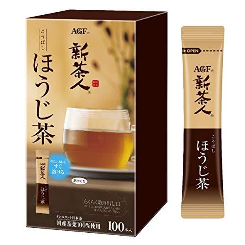 新茶人 こうばしほうじ茶 スティック 100本