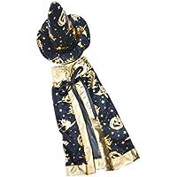 Lovoski ファッション 布製 人形服 ショール 帽子 洋服 ハロウィーン ドレス 18インチアメリカガールドール人形用 ブラック