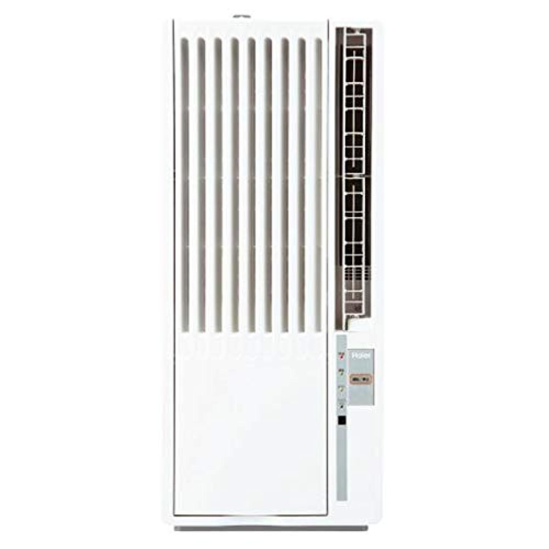 ハイアール 窓用エアコン(冷房専用?おもに4.5~8畳用 ホワイト)Haier JA-18T-W