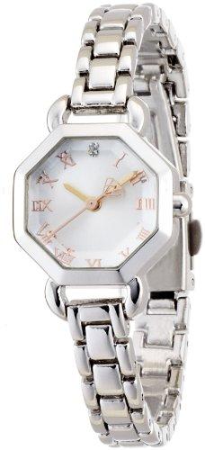 腕時計 sara(サラ) アナログ表示 ファッションウォッチ オクタゴンメタル シルバー ST066-1 レディース フィールドワーク