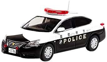RAI'S 1/43 日産 シルフィ 2013 滋賀県警察 所轄署地域警ら車両 完成品