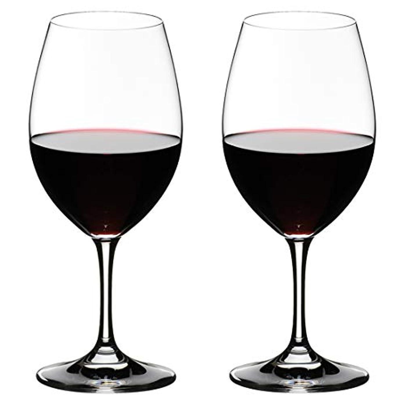[正規品] RIEDEL リーデル 赤ワイン グラス ペアセット オヴァチュア レッドワイン 350ml 6408/00