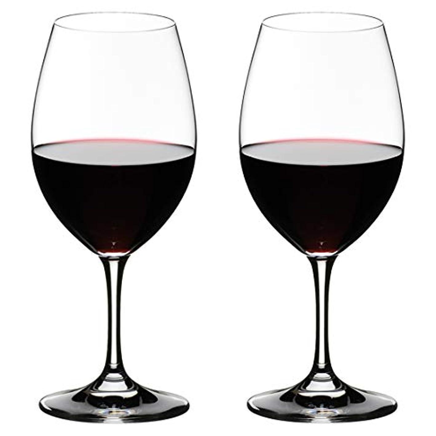 オデュッセウスなぞらえる牛肉[正規品] RIEDEL リーデル 赤ワイン グラス ペアセット オヴァチュア レッドワイン 350ml 6408/00