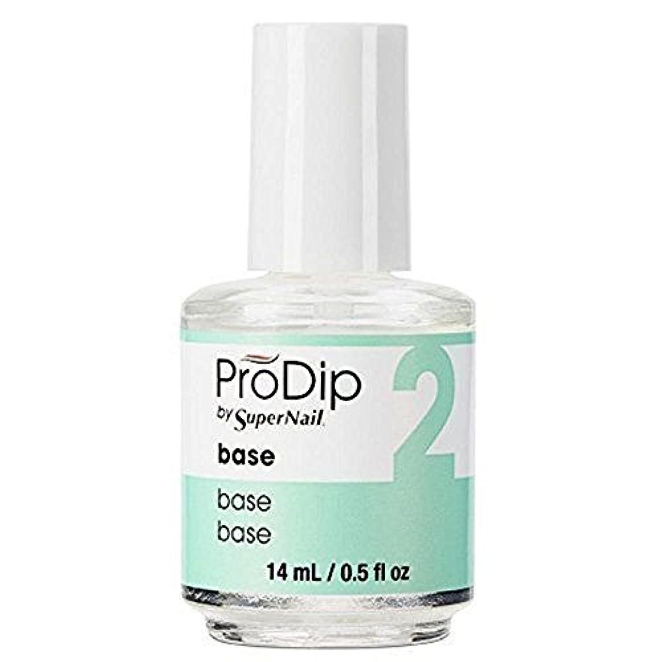 めんどり別々に神経衰弱SuperNail ProDip - Base - 14 ml/0.5 oz