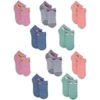 dELiAs Girls' Shorty Soft Socks (10 Pack)