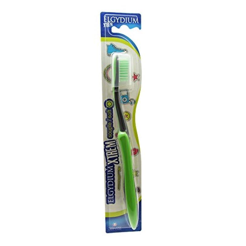Elgydium Xtrem Toothbrush Soft Hardness [並行輸入品]