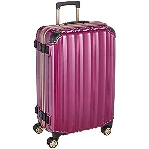 (ビータス) スーツケース BH-F2000(中型 4日5日6日7日用)Mサイズ 鏡面パープル【2000 M/PU】