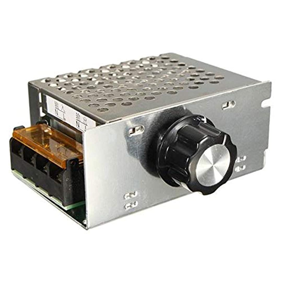 セーターマウントしたがってA Acreatspace AC 220 v 4000 w SCR電圧レギュレータ調光電子モータースピードコントローラ
