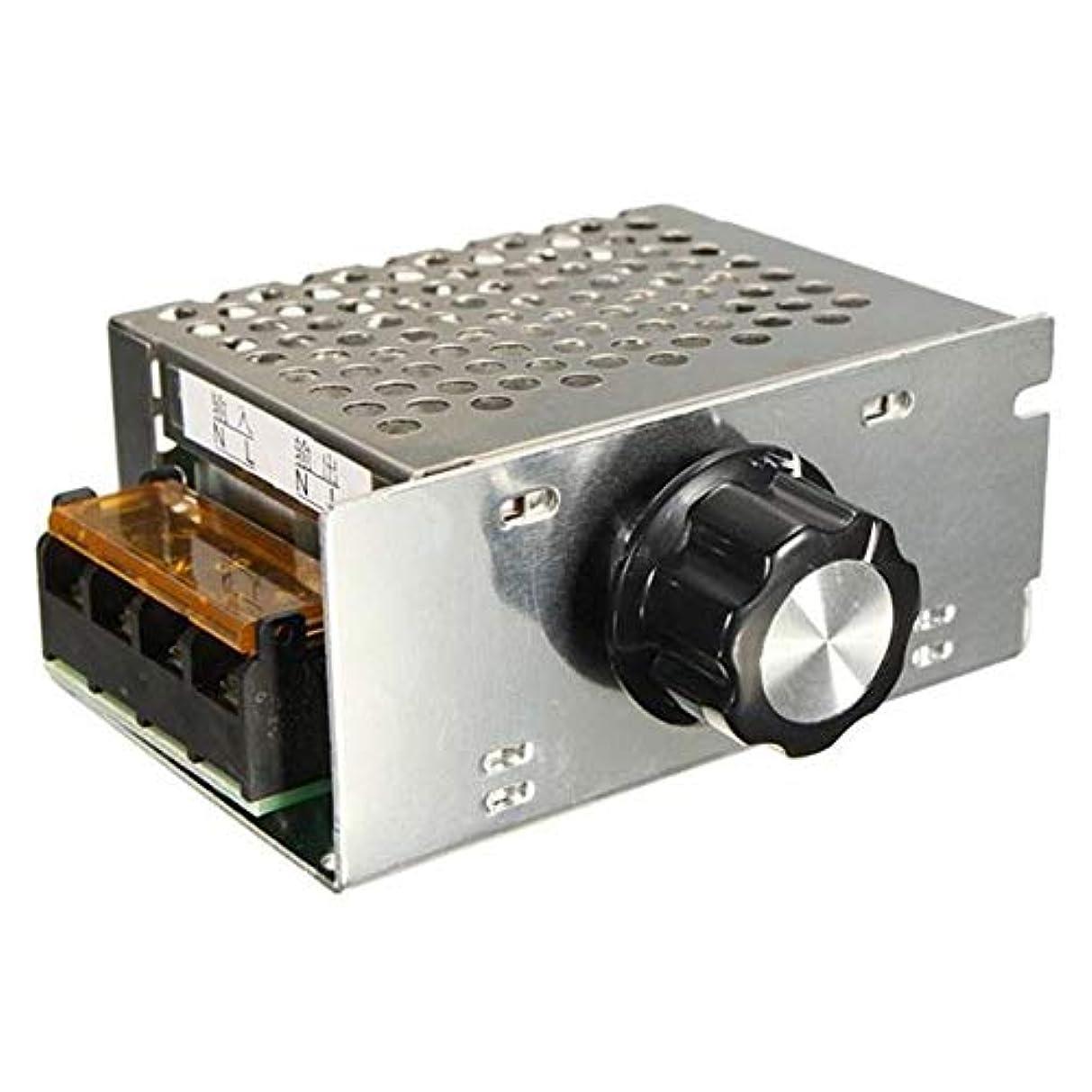 鉱夫野ウサギ検体A Acreatspace AC 220 v 4000 w SCR電圧レギュレータ調光電子モータースピードコントローラ