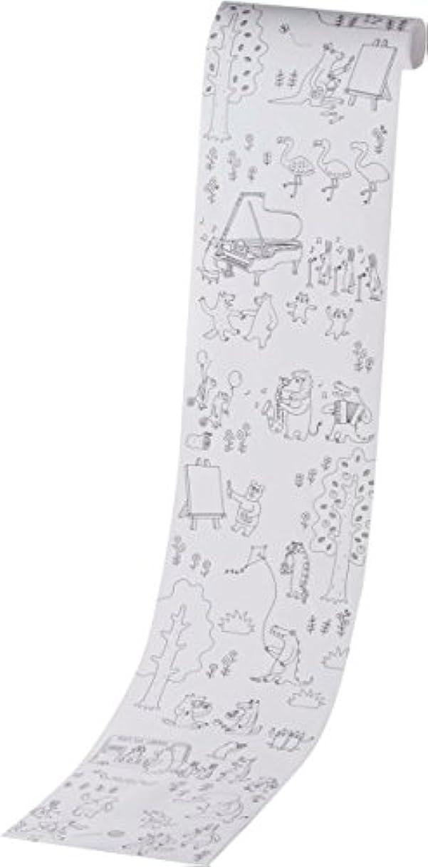 算術外交アフリカカメヤマキャンドルハウス Painta holic ペインタホリック ロール型ぬりえ 1m モリ