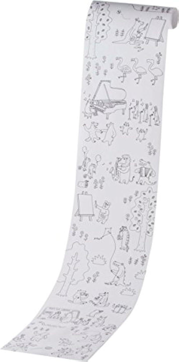 数カッタースクリーチカメヤマキャンドルハウス Painta holic ペインタホリック ロール型ぬりえ 1m モリ