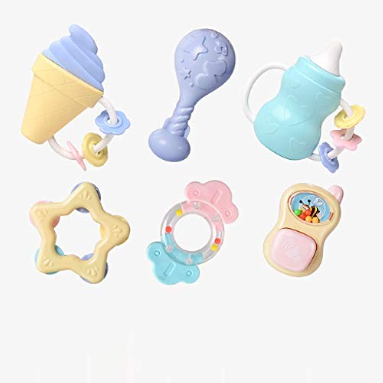 Siyushop ラトル トイ ベル ミュージック 教育 パーカッション 楽器セット - 乳児 幼児 学習 玩具 エンターテイメント 学校用品 ツール (色: A )