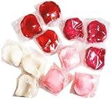 演出上手 ! 花びら 4色 1200枚 セット [ 赤 ローズピンク ピンク 白 ] フラワーシャワー 結婚式 誕生日 クリスマス パーティーグッズ お祝い 飾り