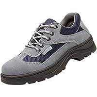 yotijar Men Non-slip Puncture Proof Steel Toe Safety Work - EU41