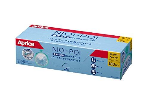 Aprica(アップリカ) ニオイポイ強力消臭オムツ袋180枚入り箱タイプ 2055332