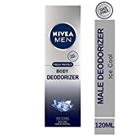 Nivea Men Fresh Protect Body Deodorizer Ice Cool Body Spray Deodorant 120ml (Ship from India)