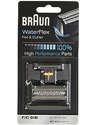ブラウン シェーバー替刃 Water Flex用 ブラック F/C51B【正規品】