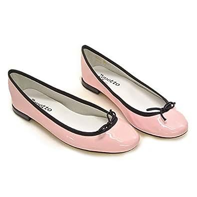 (レペット) REPETTO 靴 パンプス バレエシューズ BB ベベ V086V VERNIS エナメル選べる8カラー 37.0(23.0cm相当) ICONE/NOIR (914) [並行輸入品]