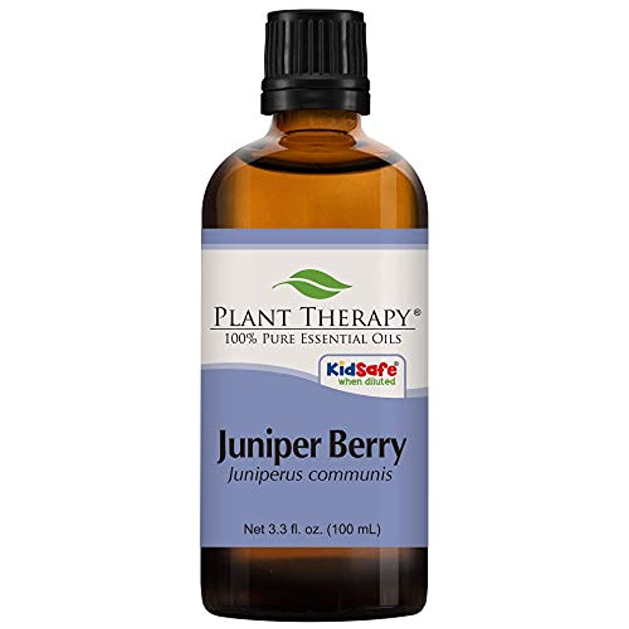 荒涼としたセットする開発Juniper Berry Essential Oil. 100 ml (3.3 oz). 100% Pure, Undiluted, Therapeutic Grade