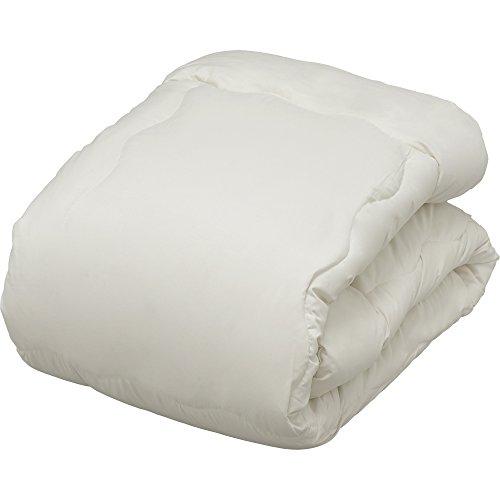 アイリスオーヤマ 掛け布団 洗える ほこりが出にくいポリエステル綿 固綿入り シングル ベージュ FPRK-S