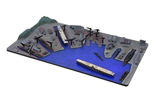フジミ模型 1/3000 集める軍港シリーズ No.2 佐世保軍港 プラモデル 軍港2