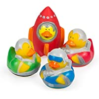 12 ct - Outer Space Astronaut Explorer Rubber Ducks by Rubber Ducks [並行輸入品]
