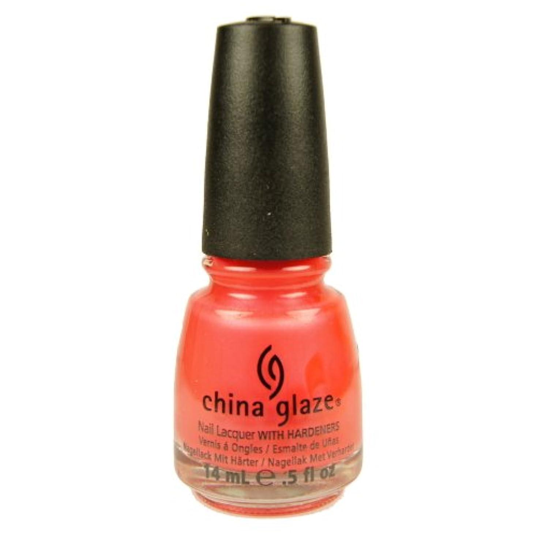 先生バターアブストラクトCHINA GLAZE Summer Neon Polish - Flirty Tankini (並行輸入品)