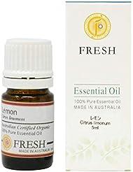 FRESH オーガニック エッセンシャルオイル レモン 5ml (FRESH 精油)