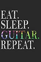 GITARRE NOTIZBUCH: Gitarre Notizbuch die Perfekte Geschenkidee fuer Gitarristen oder Gitarren Fans. Das Taschenbuch hat 120 weisse Seiten mit Punktraster die dich beim Schreiben oder skizzieren unterstuetzten.