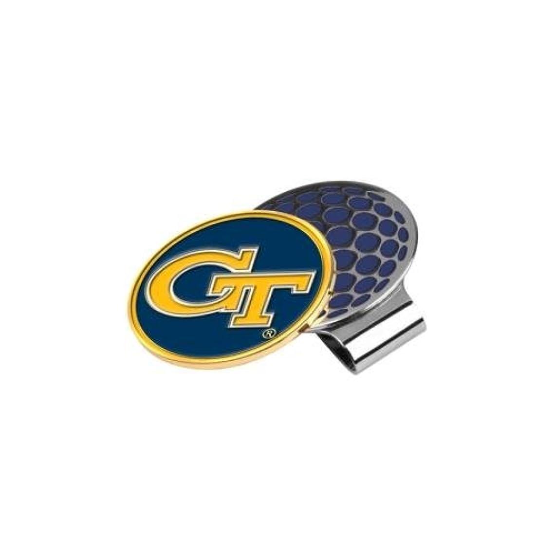 真っ逆さま新年クライストチャーチNCAA Georgia Tech – ゴルフ帽子クリップとボールマーカー
