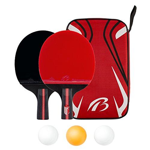 2枚セット 卓球ラケットセット 貼り上がり ペンホルダーラケットセット シェークハンドラケットセット 新入生応援セット ピンポンラケット ピンポンの球3個入