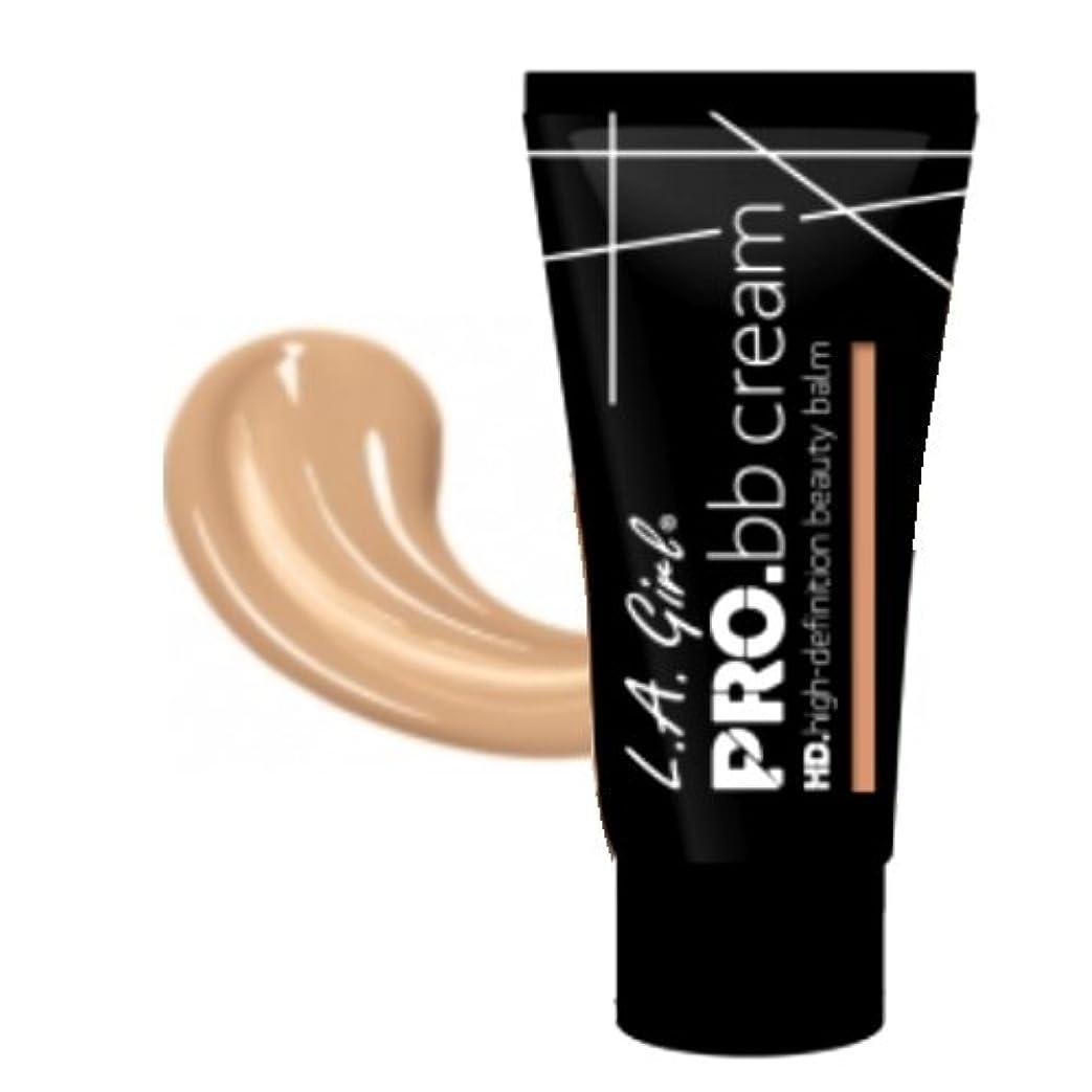 筋後悔累積(3 Pack) LA GIRL HD Pro BB Cream - Light (並行輸入品)