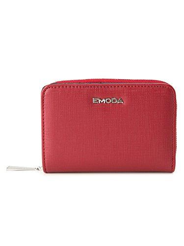 [エモダ] 二つ折り財布 角シボ レディース EM-9767