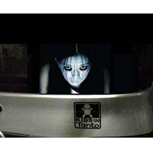 恐怖ホラー リアウィンドウ ステッカー 自動車 ハイビーム対策