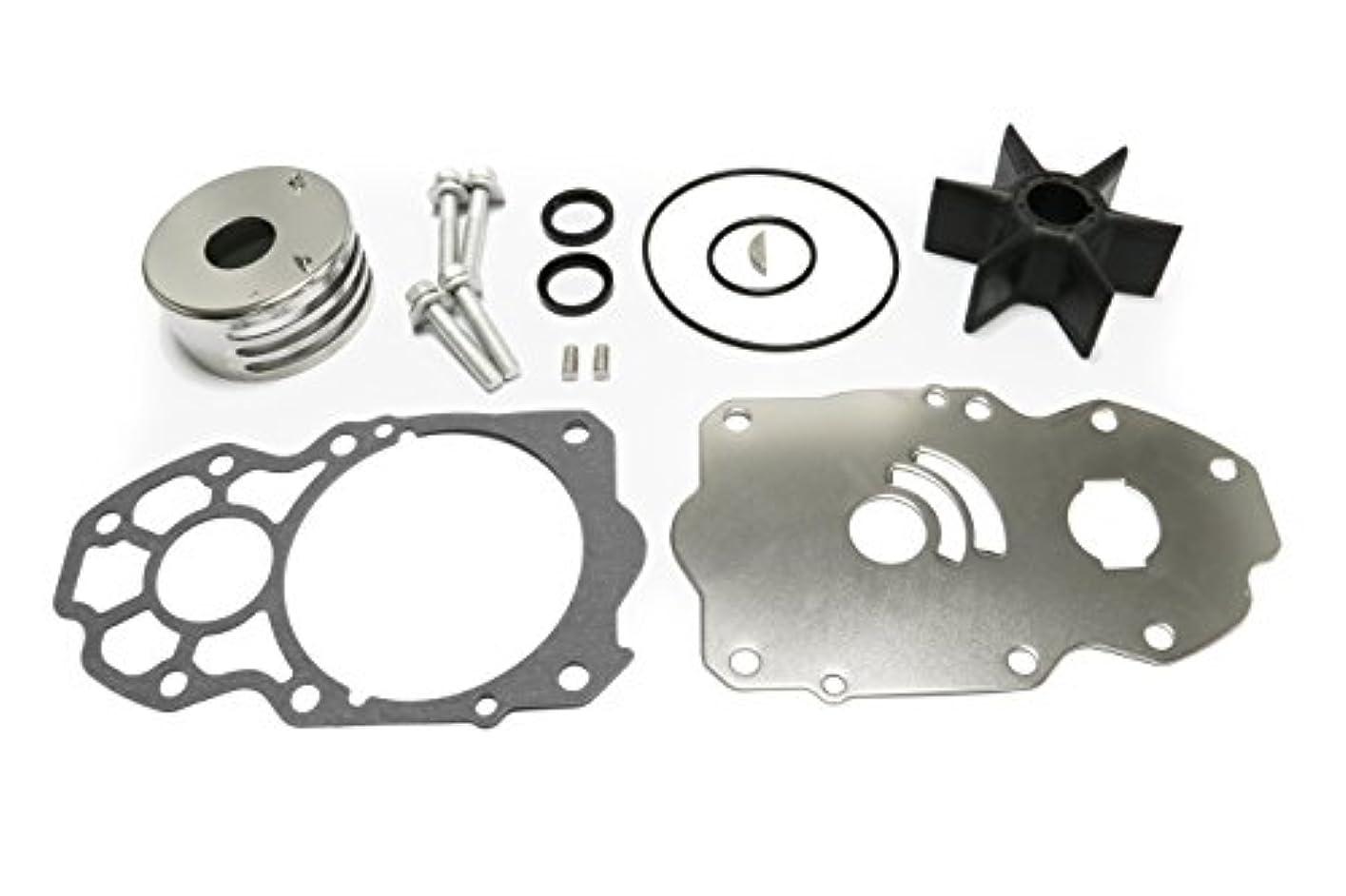 Createshao 225/250/300HPヤマハウォーターポンプ修理キットインペラーリビルドキット交換6CE-W0078-00,6CE-W0078-01-00