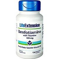Benfotiamine ビタミンB1配合 100mg含有/粒 120粒ベジカプセル) 海外直送品