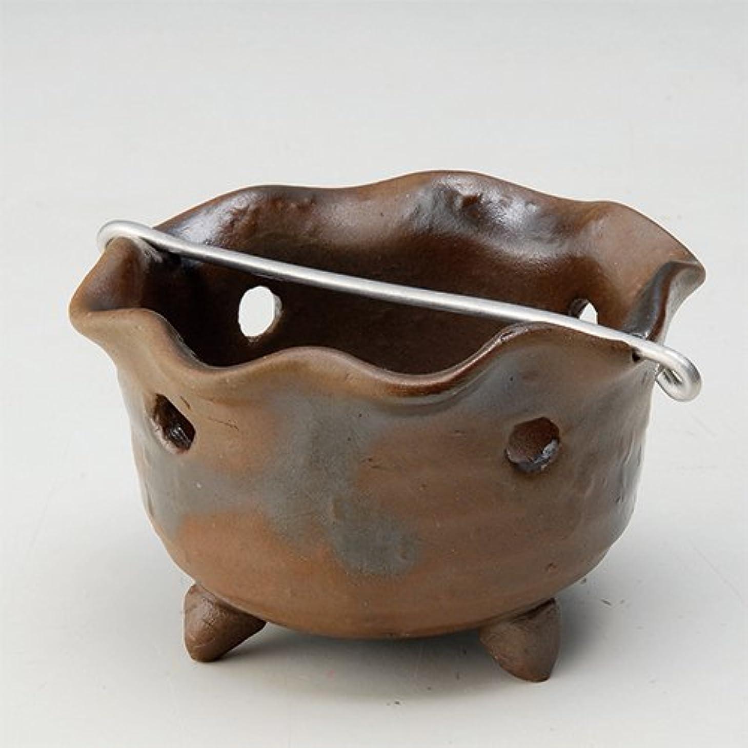 時折終了するアウター香皿 窯変 花型 香鉢 [R8.5xH5.3cm] HANDMADE プレゼント ギフト 和食器 かわいい インテリア