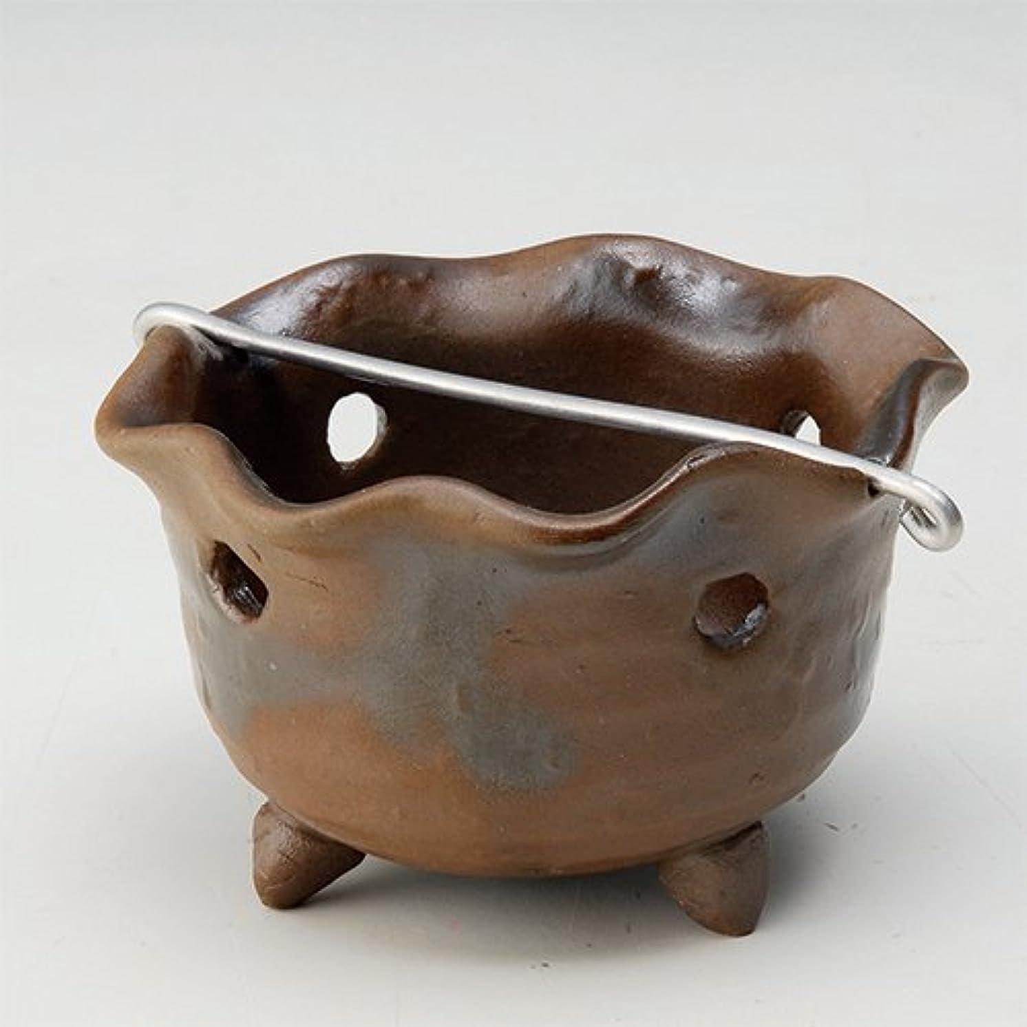 ここに団結するスイ香皿 窯変 花型 香鉢 [R8.5xH5.3cm] HANDMADE プレゼント ギフト 和食器 かわいい インテリア