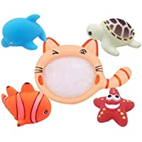 Kennedy Children Fun Bathing Catch Fish Toy With Net To Catch Kids Beach Toy [並行輸入品]