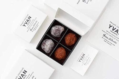 イヴァン ヴァレンティン 2020 YVAN VALENTIN トリュフチョコレート 4個入 ショップバッグ付 バレンタインチョコ