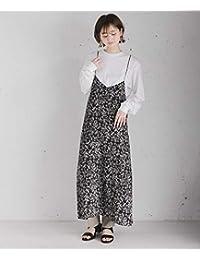 [センスオブプレイス] ワンピース ドレス フラワープリントキャミソールワンピース レディース AA05-26C114