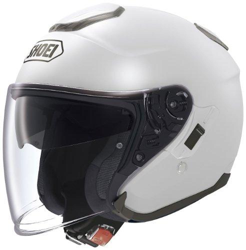 ショウエイ(SHOEI) バイクヘルメット ジェット J-CRUISE ルミナスホワイト L (頭囲...