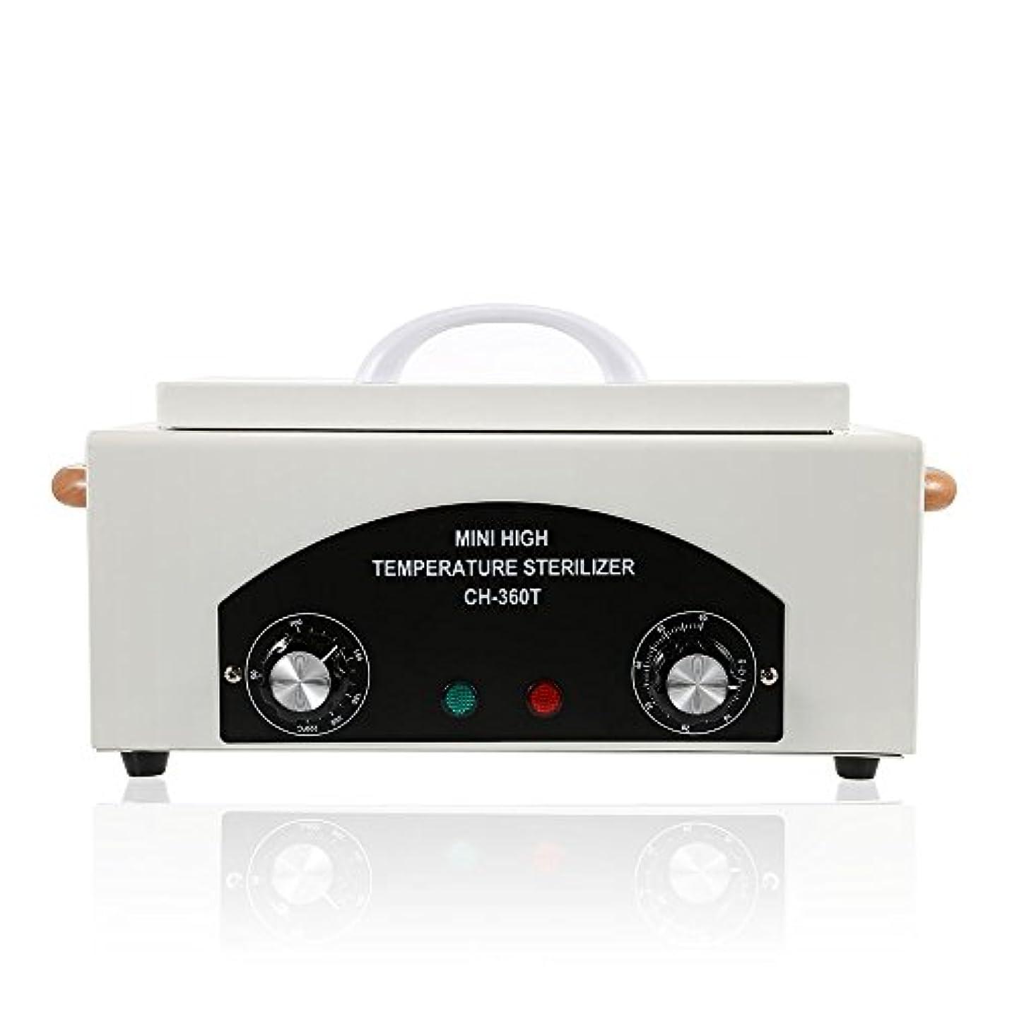 シエスタできた経済高温殺菌装置 ネイルボックス サロン美容ツール 爪消毒用具 乾熱ポータブル殺菌装置