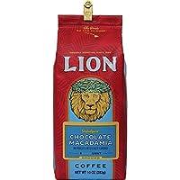 (ライオンコーヒー) チョコレート マカダミアナッツ 283g (粉)