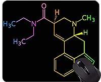 個人化された科学テーマの描かれた様式のマウスパッドの薬剤のゴム製マウスパッド